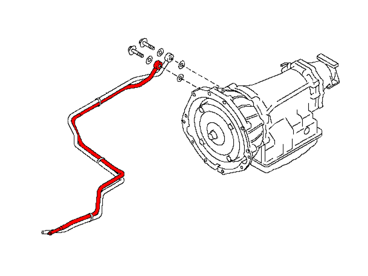 Oem Automatic Transmission Cooler Line