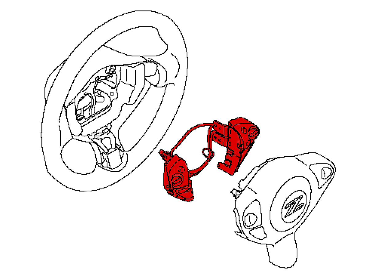 Oem 370z Steering Wheel Switch Assembly Nismo Z1
