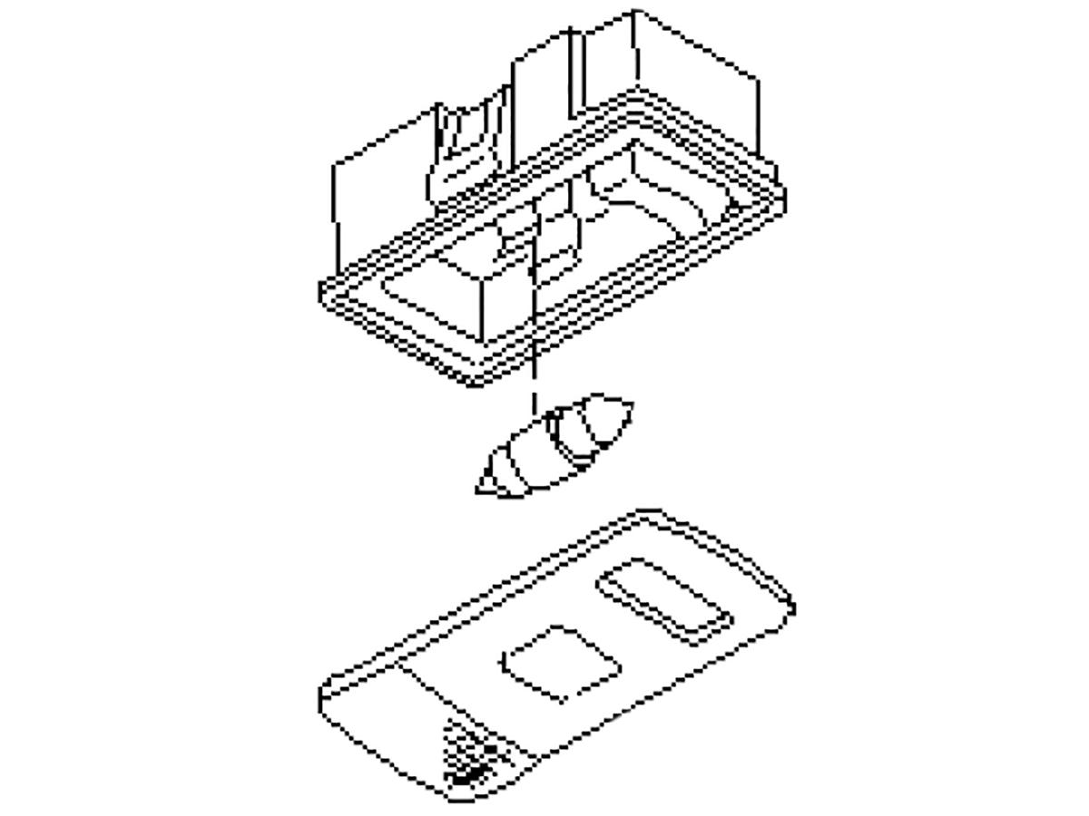 Oem Fx35 Fx45 Rear Cabin Cargo Light Assembly Z1
