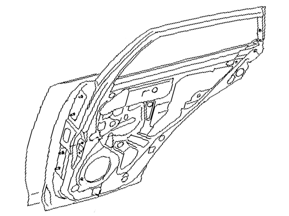Oem Fx35 Fx45 Rear Door Assembly Performance Oem And
