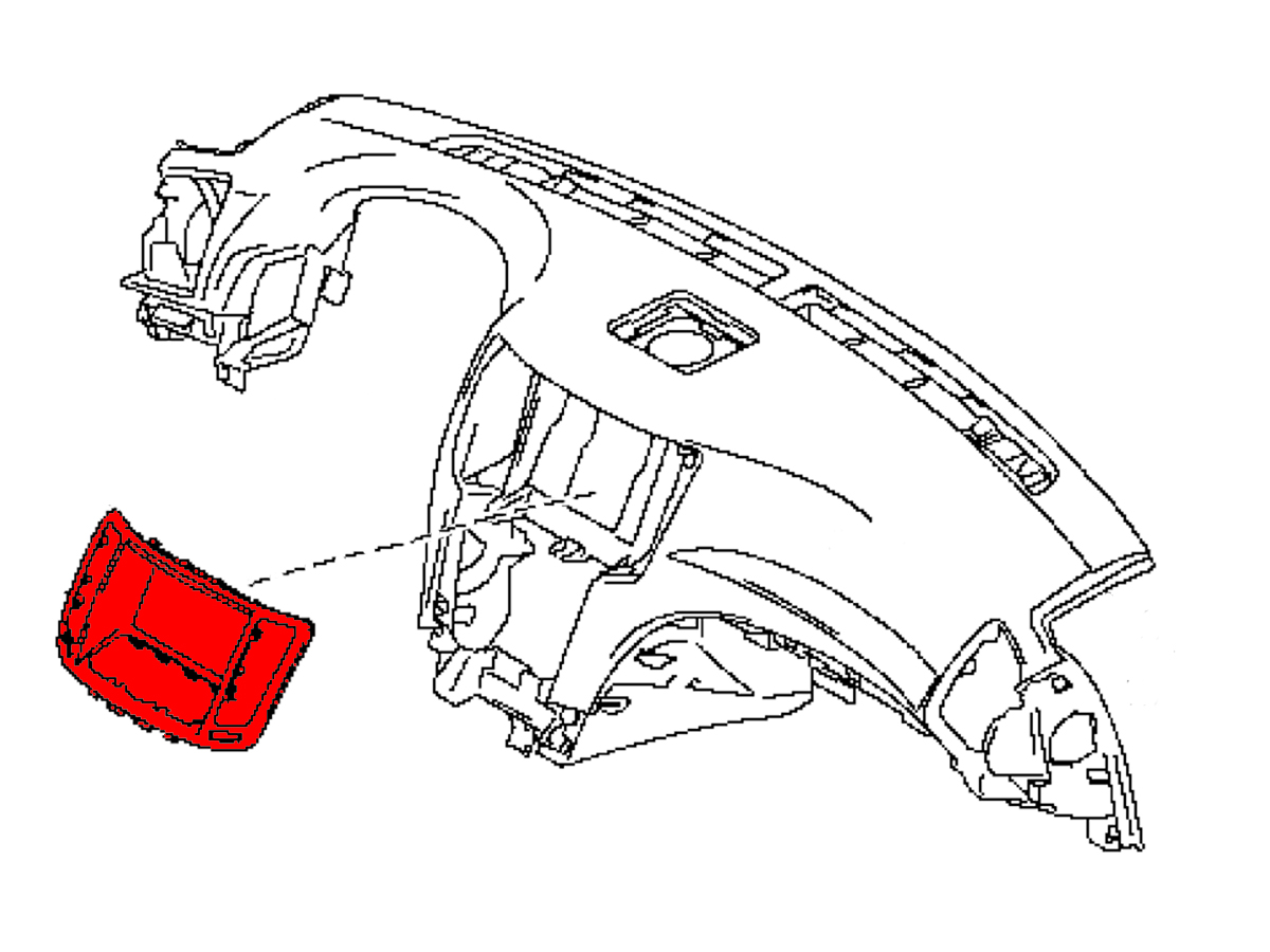 Oem G37 Convertible Center Dash Board Trim Z1 Motorsports