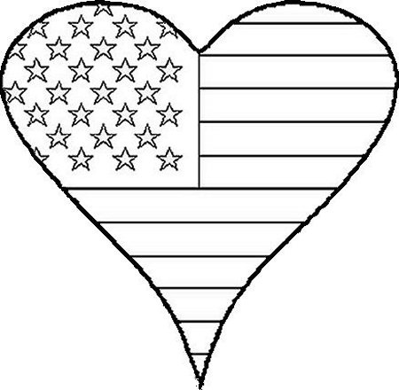 Flag Day Coloring 2019 Z31 Coloring Page