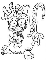 Monster Coloring Pages 2018 Z31 Coloring Page