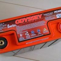 オデッセイ(ODYSSEY)ドライバッテリーPC680写真
