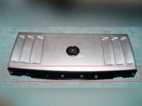 Z32フロントグリル エンブレム取り付け後写真