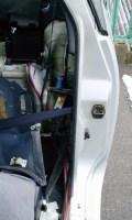 Z32バッテリー移設配線写真(その6)