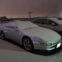 雪が積もったZ32の写真(2013年)