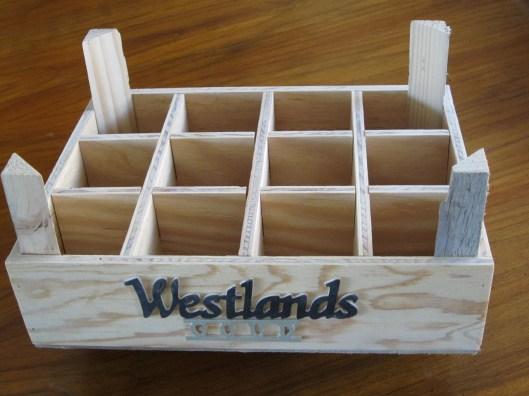 Kistje gemaakt voor Westlands bier