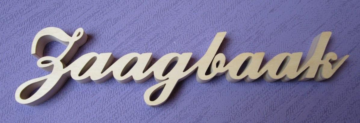 letters aan elkaar