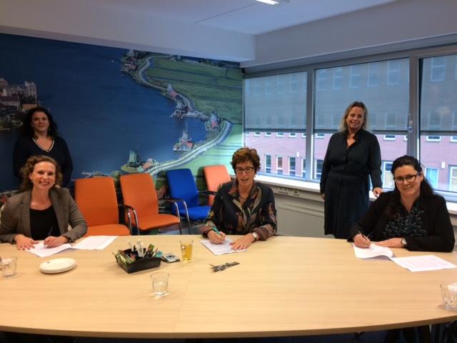 Nieuwe samenwerkingsovereenkomst met opvangpartners