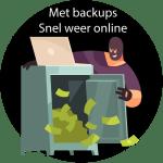Met backup website weer snel online