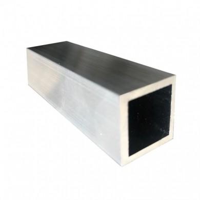 tube carre aluminium brut choix section