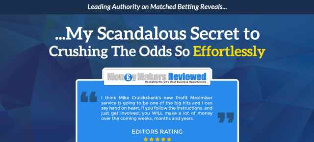 Profit maximizer matched betting software free free binary options trading videos