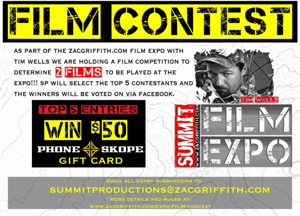 ZAC GRIFFITH FILM CONTEST