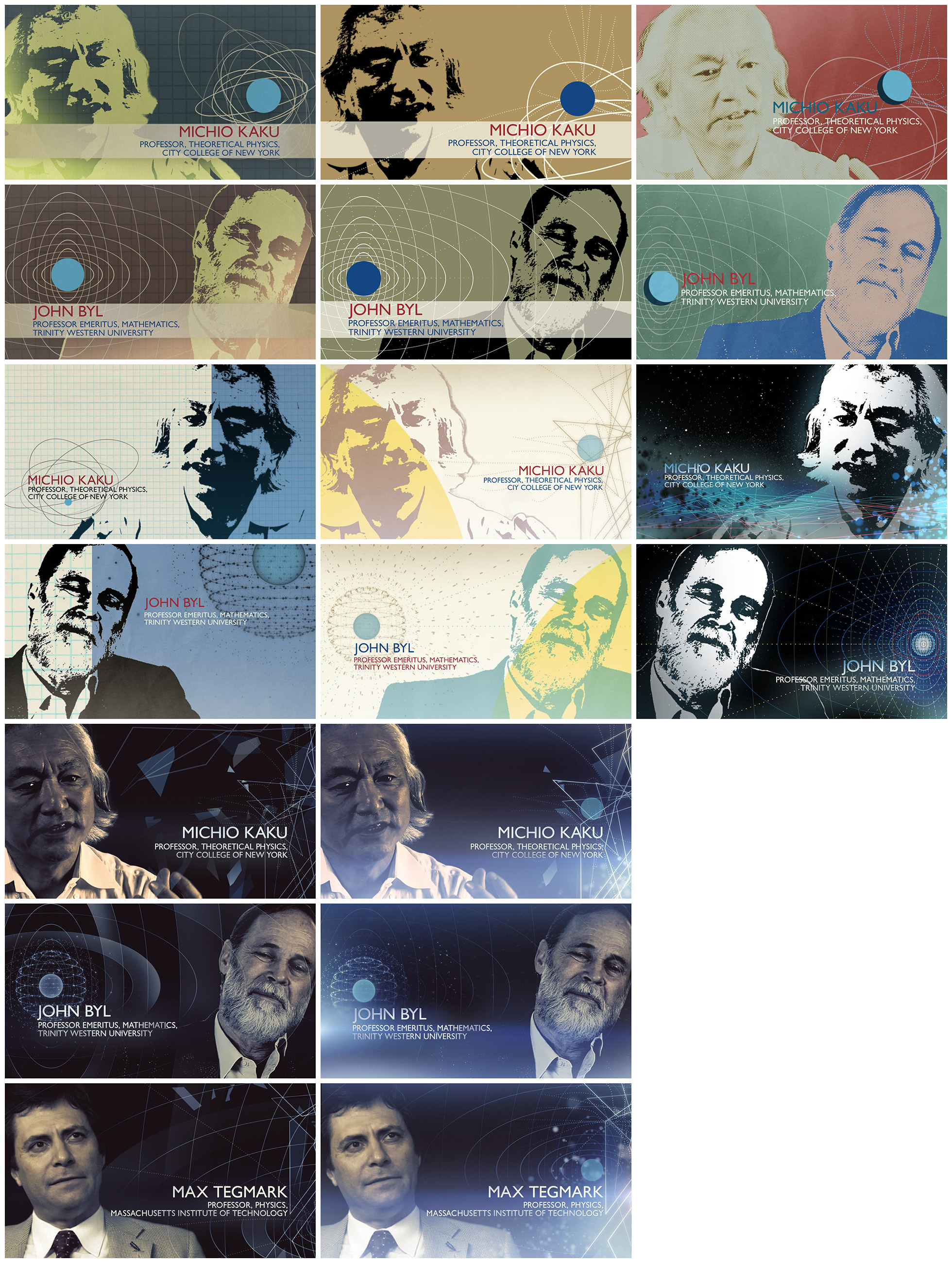 Prin_interview_styleframes style frames - movie posters - logo design