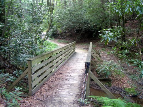 1st bridge over Widow's Creek