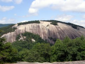 Stone Mountain view from Cedar Rock