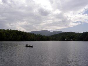 Grandfather Mountain over Price Lake