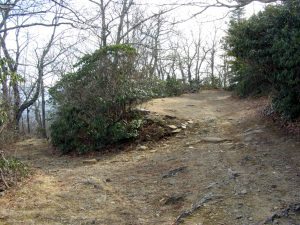 Junction with Rocky Knob Trail
