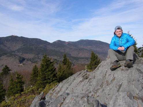 Yours truly atop Pinnacle