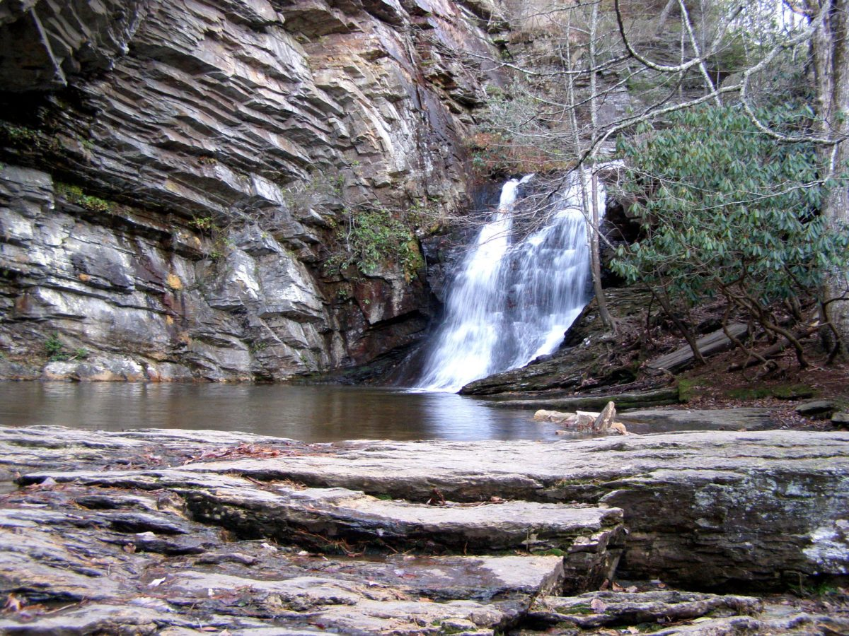 Lower Cascade Falls - Hanging Rock State Park, NC