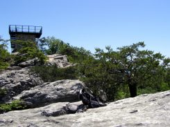 Moore's Knob observation tower - from May 2012