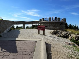 Mt. Mitchell observation tower, the highest peak east of the Mississippi River