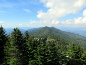 North view from Mt. Mitchell
