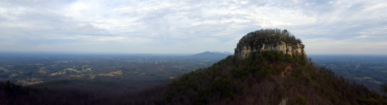 Panorama east from Little Pinnacle