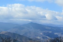 Zoomed in view of Cold Mountain