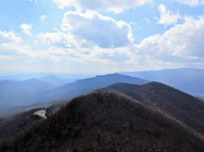 View south of Pisgah Ridge