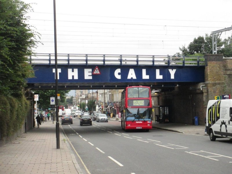 Bridge over Caledonian Road