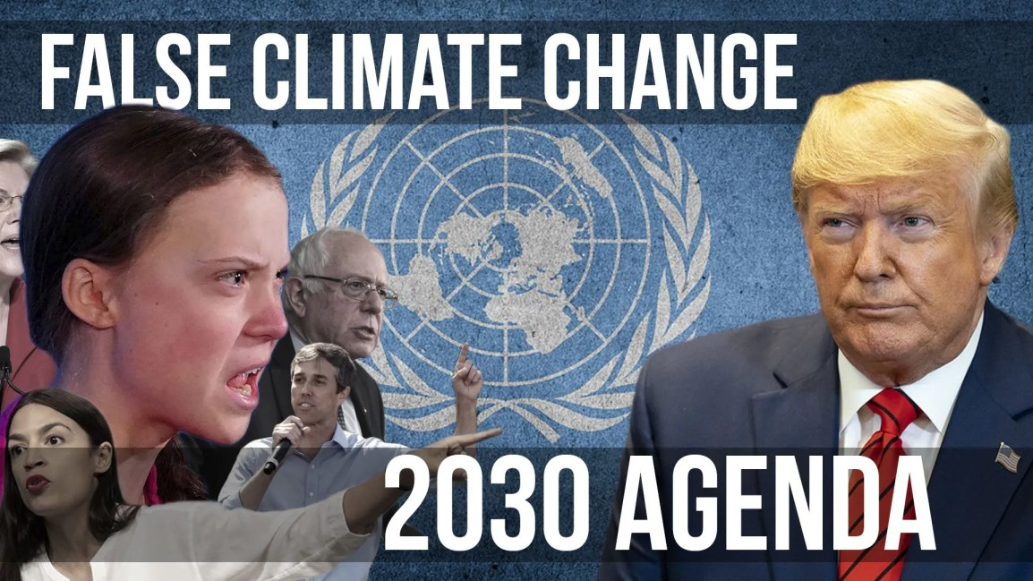 False Climate Change & the 2030 Agenda - Zach Drew Show