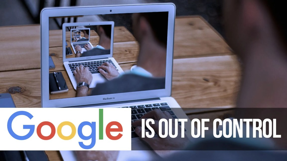 GOOGLE's Officially Out of Control! - Zach Drew Show