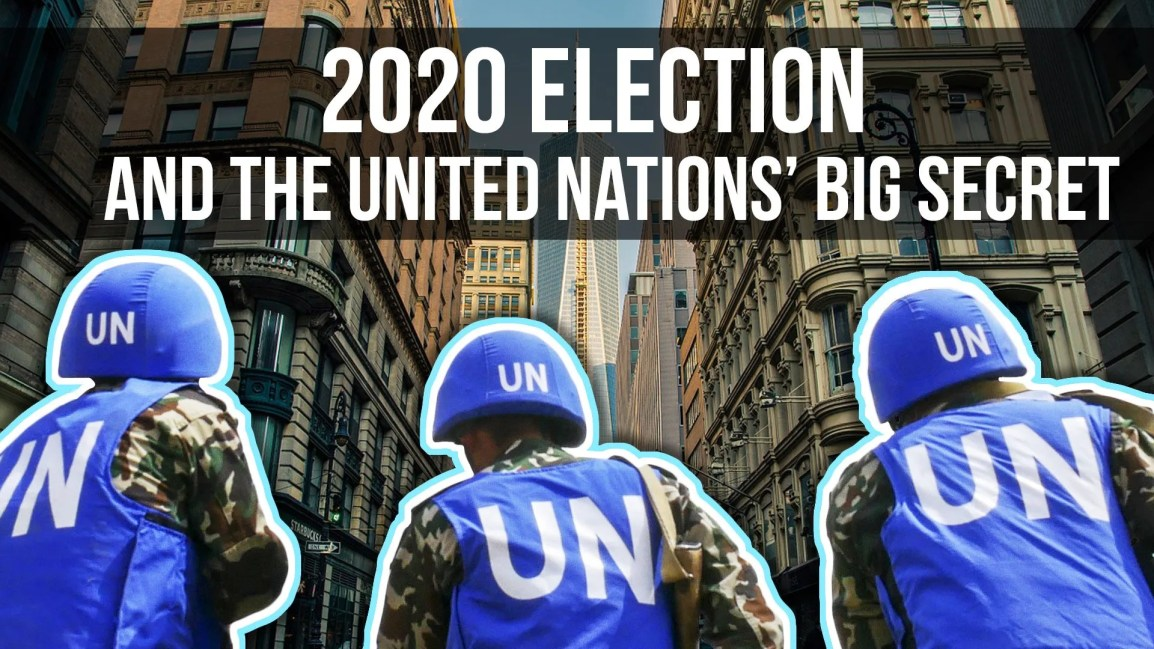2020 Election & the United Nations' Big Secret - Zach Drew Show