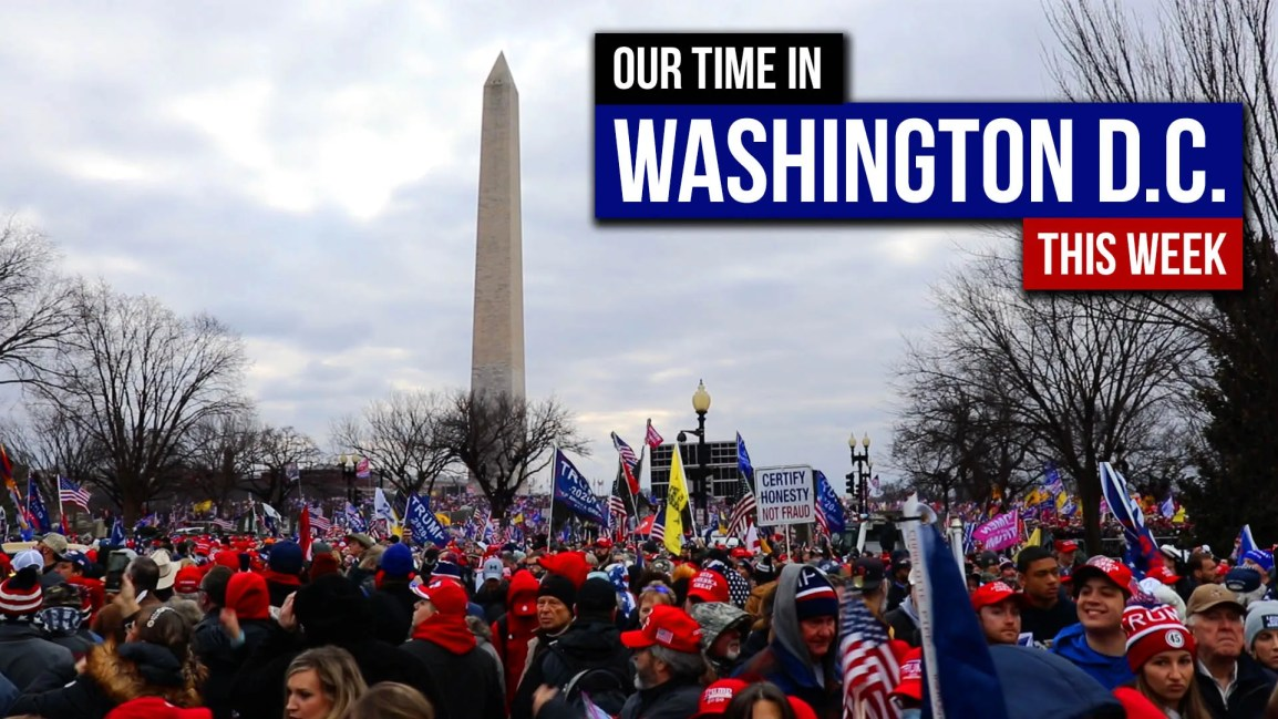 Our Time in Washington D.C. This Week - Zach Drew Show
