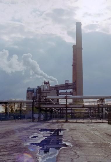 The Kodak factory in Rochester New York, still producing film in 2014.  Photographed on a Pen FT with 38mm lens on Kodak Ektar 100 film by Zach Horton.