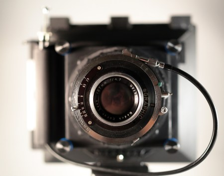 The Mercury, in Large Format (4x5 inch sheet film) mode.