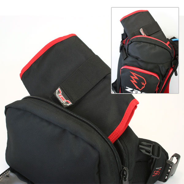The Matrix pack has a tool roll insert that allows true multi-role usability, without compromising tool carrying ability. If required, for different rides the tool roll can be removed and carried in a backpack or by other means, freeing up the Matrix pack for other uses.