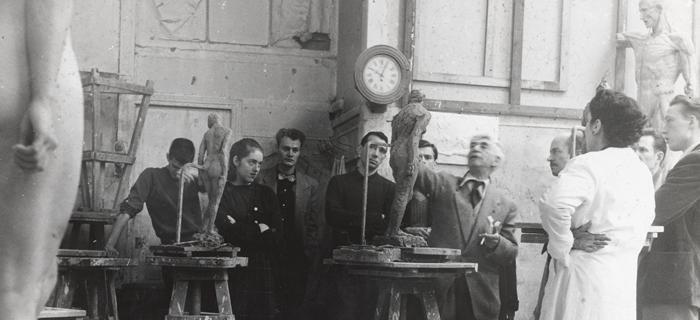 A Lacademie De La Grande Chaumière à Paris Musée Zadkine