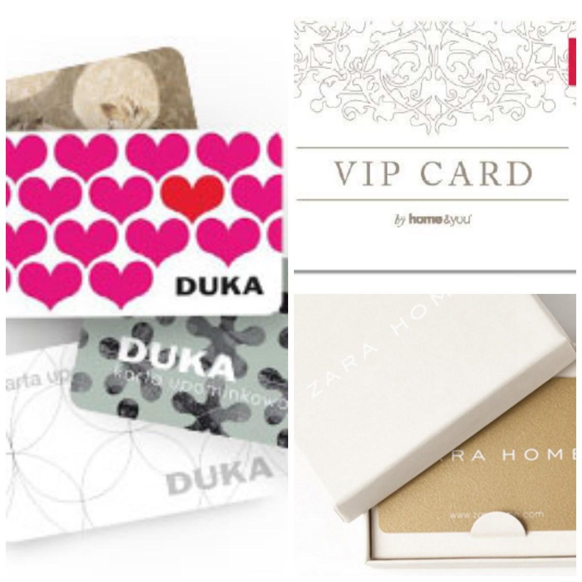 bony podarunkowe gift cards