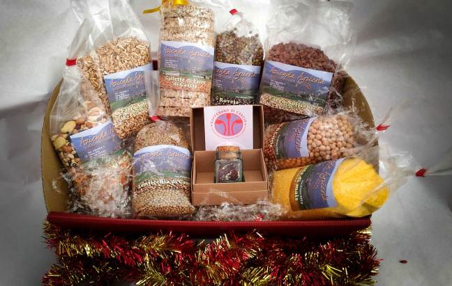 cesto il gioiello confezioni regalo aziende agricole