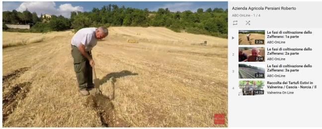 playlist youtube azienda agricola persiani