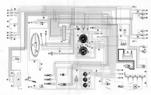 Wiring Diagram for the Alfa Romeo 1600 Junior Z