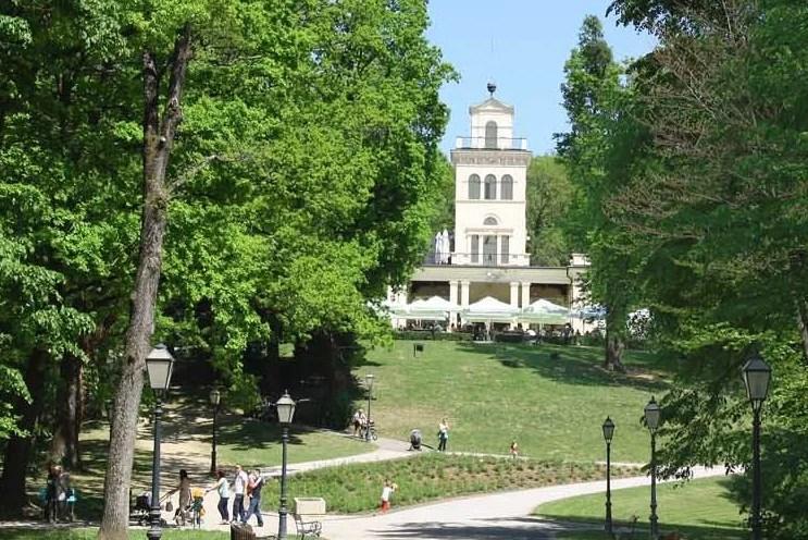 Maksimir Park in Zagreb