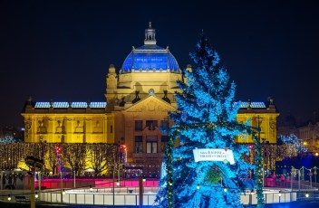 Christmas market in Zagreb 2017
