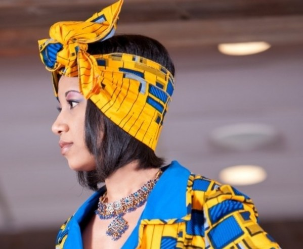 African Headwrap (Yellow)