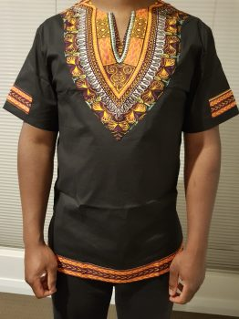 African Print Men's Shirt (Dashiki)