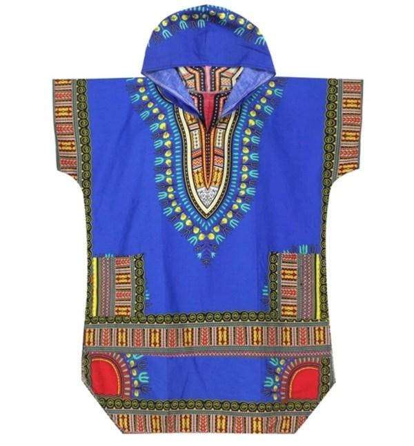 Kondwelani Dashiki Hoodie (Blue)