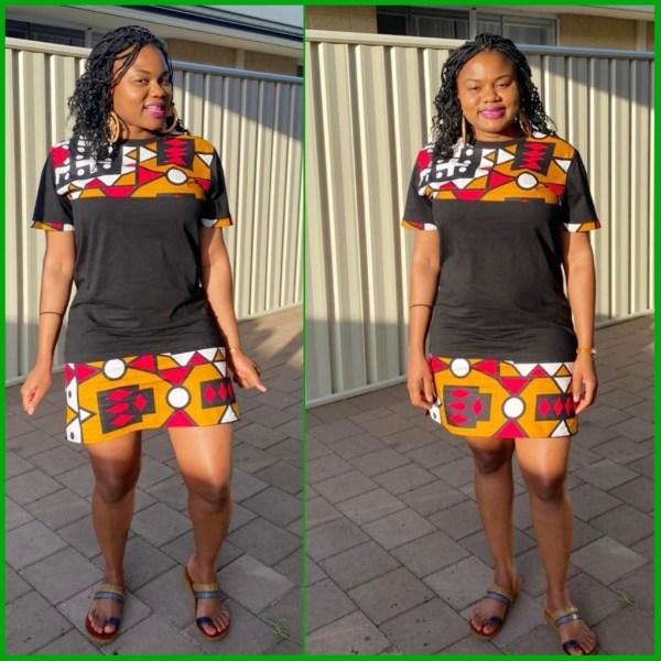 African Print Dress Shirt
